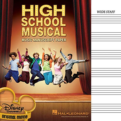 9781423478263: High School Musical Manuscript Paper 6 Stave
