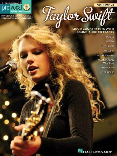 9781423478591: Taylor Swift: Pro Vocal Women's Edition Volume 49
