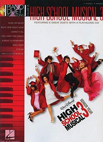 9781423479369: High School Musical 3: Piano Duet Play-Along Volume 35