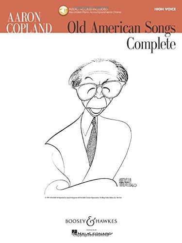 9781423479932: Aaron Copland - Old American Songs Complete (High Voice) [With CD (Audio)]
