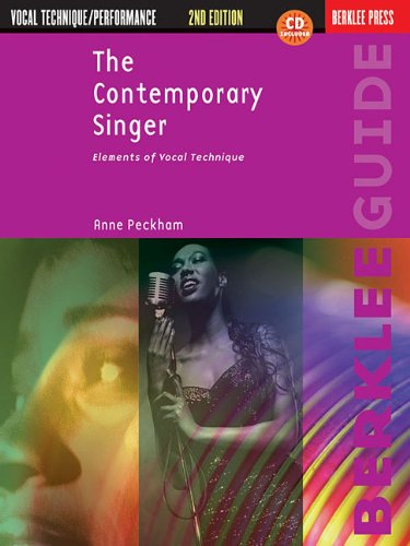 9781423480174: The Contemporary Singer: Elements of Vocal Technique