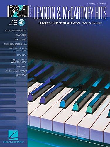 9781423480433: Lennon & McCartney Hits: Piano Duet Play-Along Volume 39