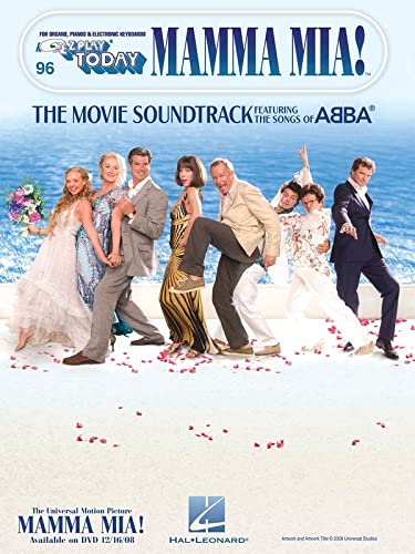 9781423480945: Mamma Mia!: The Movie Soundtrack Featuring the Songs of ABBA (E-Z Play Today)