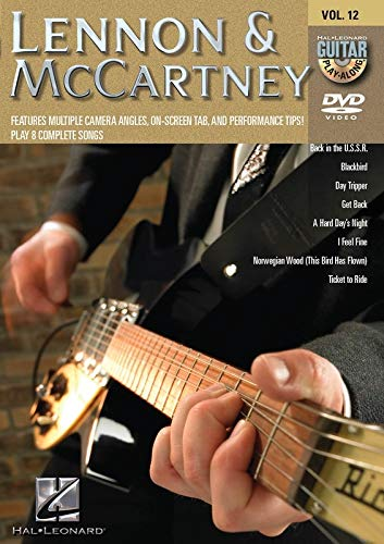 9781423481003: Gpa DVD Vol 12 Lennon Mccartney Gtr