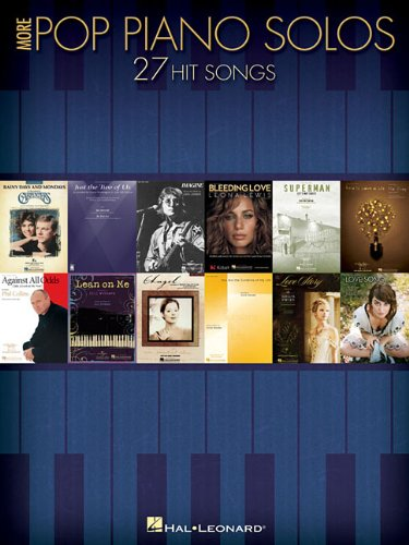 More Pop Piano Solos: 27 Hit Songs