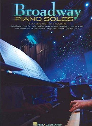 Broadway Piano Solos: Hal Leonard Corp