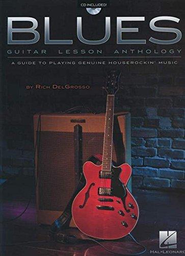 Blues Guitar Lesson Anthology Guide Playing Houserockin' Music Bk/Cd: VARIOUS