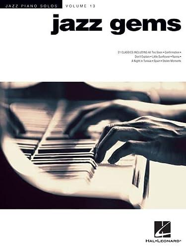 9781423481706: Jazz Gems Piano Solo