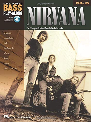 9781423482123: Nirvana: Bass Play-Along Volume 25
