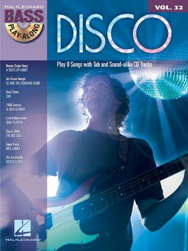 9781423482390: Disco - Bass Play-Along Volume 32 (Book/Cd)