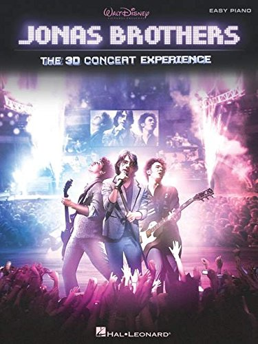 9781423482482: Jonas Brothers - The 3D Concert Experience: Easy Piano