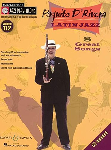 9781423483014: Paquito D'Rivera - Latin Jazz: Jazz Play