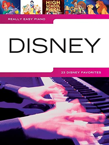 9781423483243: Really Easy Piano Disney