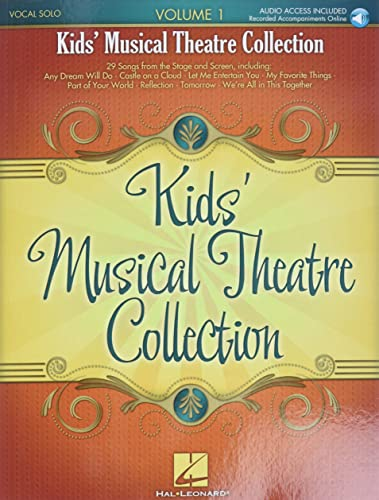 Kids' Musical Theatre Collection, Volume 1 [With CD (Audio)]