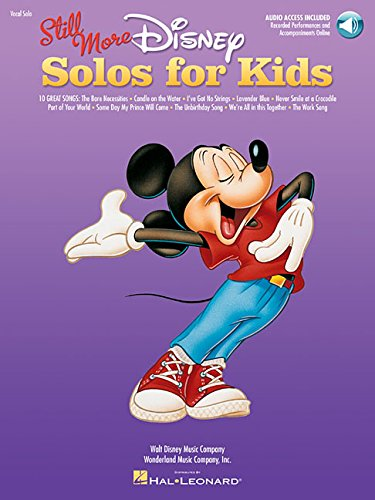 9781423483335: Still More Disney Solos for Kids