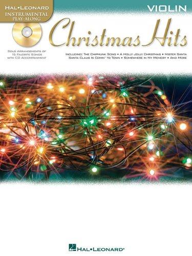 Christmas Hits: Violin (Hal Leonard Instrumental Play-Along): Hal Leonard