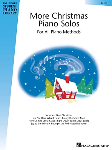 9781423483618: More Christmas Piano Solos - Level 1: Hal Leonard Student Piano Library