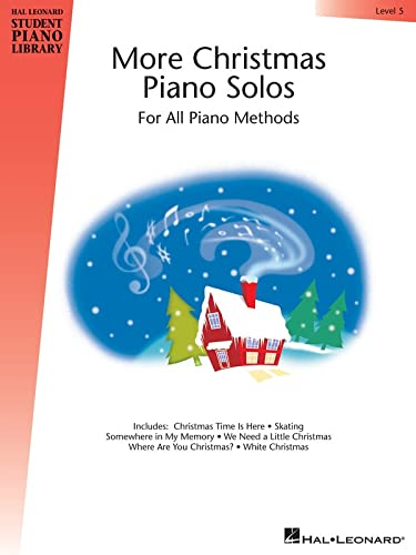9781423483656: More Christmas Piano Solos - Level 5: Hal Leonard Student Piano Library