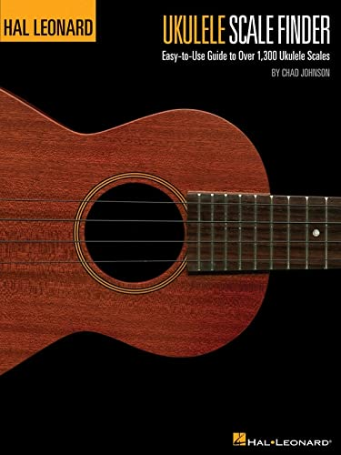 9781423483809: Ukulele Scale Finder - Easy-to-use Guide to over 1,300 Ukulele Scales: 9x12 Edition