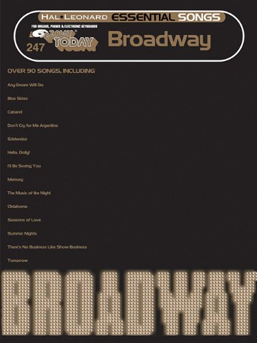 9781423483816: Essential Songs - Broadway: E-Z Play Today #247