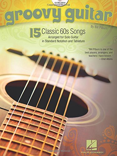9781423483915: Groovy Guitar - 15 Classics From The 1960s Arranged For Solo Fingerstyle Guitar (Bk/Cd)
