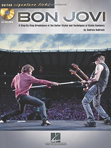 9781423484158: Bon Jovi Guitar Signature Licks Bk/Cd