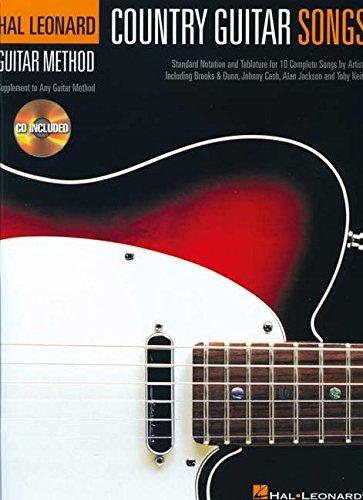 9781423484424: Hlgm Country Guitar Songs Tab Bk/Cd (Hal Leonard Guitar Method (Songbooks))