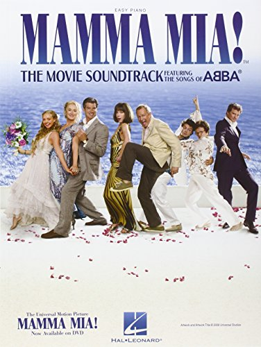 Mamma Mia!: The Movie Soundtrack Featuring the Songs of ABBA (PIANO) (9781423484905) by ABBA