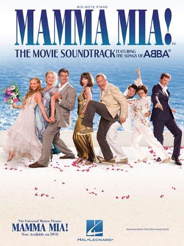9781423484912: Mamma Mia]: The Movie Soundtrack Featuring The Songs Of Abba - Big Note Piano