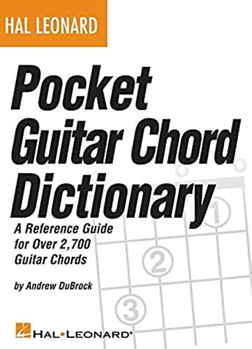 9781423485018: Hal Leonard Pocket Guitar Chord Dictionary