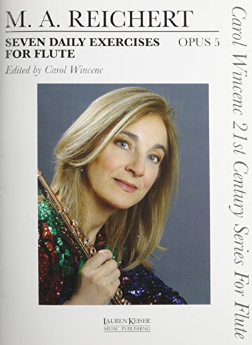 7 Daily Exercises for Flute - Op.: Reichert, Matthieu Andre