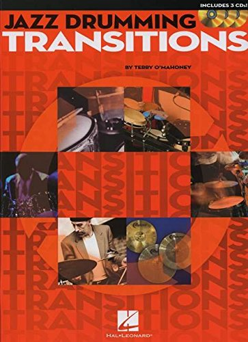 9781423485438: Jazz Drumming Transitions Drums Book/3Cd