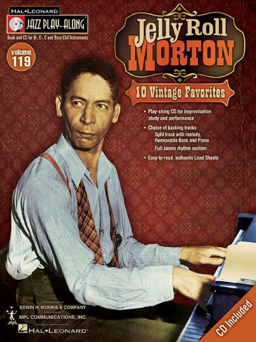 9781423485452: Jelly Roll Morton: Jazz Play-Along Volume 119 (Hal Leonard Jazz Play-Along)