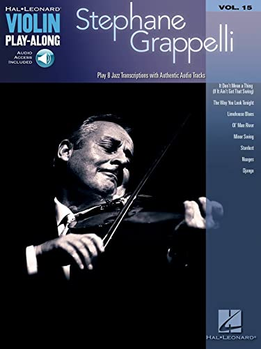 9781423486473: Violin Play-Along Volume 15: Stephane Grappelli (Play Along Book & CD)
