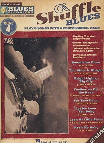 9781423486695: Shuffle Blues: Blues Play-Along Volume 4
