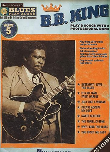 B.B. King: Blues Play-Along Volume 5 (Hal Leonard Blues Play-Along) (1423486706) by King, B.B.