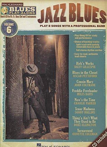 9781423486978: Blues Play-Along Vol.6 : Jazz Blues + CD