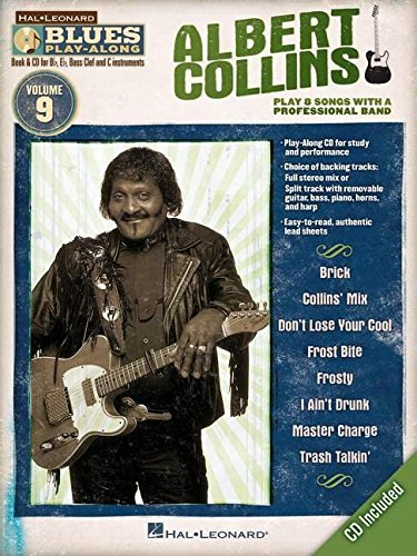 9781423487074: Albert Collins: Blues Play-Along Volume 9