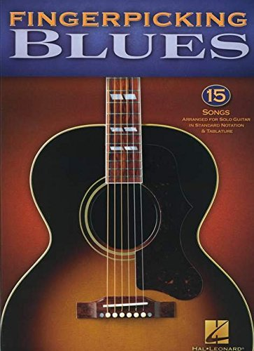 9781423487432: Fingerpicking Blues 15 Songs Arr For Solo Guitar Gtr Tab Bk