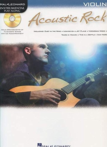 9781423487869: ACOUSTIC ROCK FOR VIOLIN - INSTRUMENTAL PLAY-ALONG CD/PKG