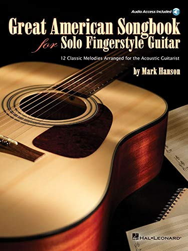 9781423487951: Great American Songbook For Solo Fingerstyle Guitar (Book/Cd)