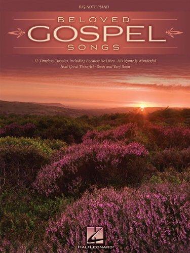 9781423488491: Beloved Gospel Songs (Big-note Piano)