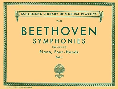 Symphonies - Book 1 (1-5): Piano Duet (Schirmer's Library of Musical Classics)