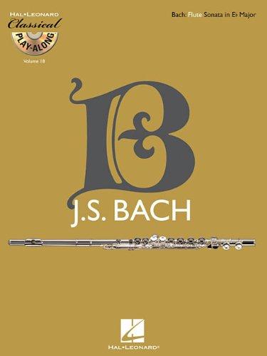Flute Sonata in E-flat Major, BWV 1031: Classical Play-Along Volume 18