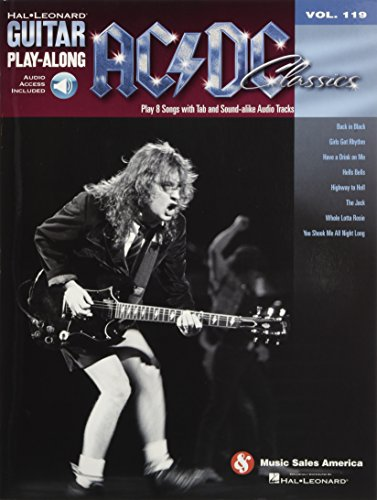 9781423489207: AC/DC Classics: Guitar Play-Along Volume 119 (Book & Online Audio) (Hal Leonard Guitar Play-Along)