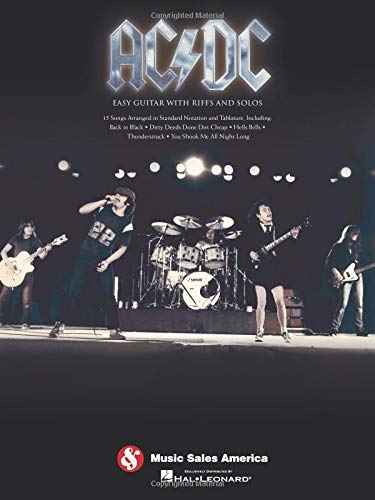 Ac/dc 9781423489214 (Easy Guitar). 15 rock classics arranged for beginning guitarists, including: Back in Black * Dirty Deeds Done Dirt Cheap * For Those About to Rock * Hell's Bells * Highway to Hell * T.N.T. * Thunderstruck * You Shook Me All Night Long * and more.