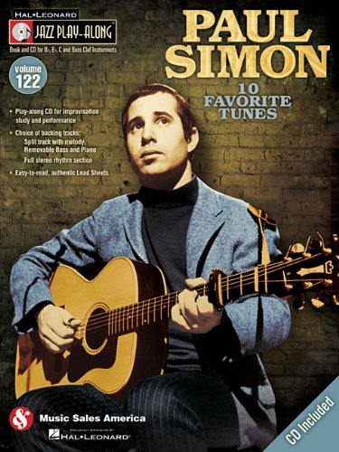 9781423489238: Paul Simon: Jazz Play-Along Volume 122
