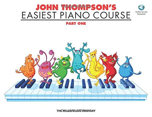 9781423489344: John Thompson's Easiest Piano Course, Part One [With CD/DVD]