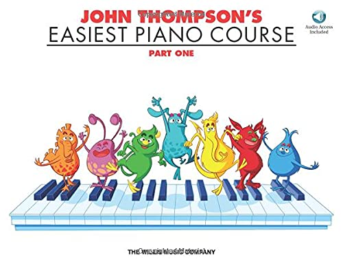 John Thompsons Easiest Piano Course - Part 1 - Book CD Pack Part One Cd Pack: John Thompson