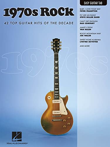 9781423489351: 1970s Rock: Easy Guitar with Notes & Tab (Easy Guitar Tab Editions)